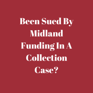 what to do when you are sued by midland funding in alabama courts