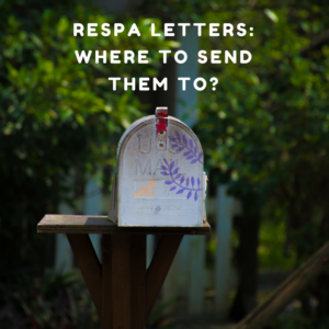 RESPA Letters -- Where to send them to?